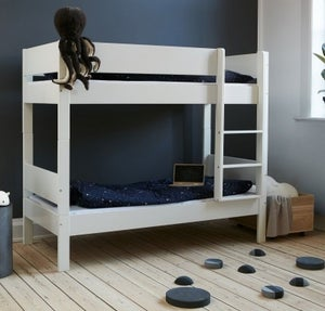 Huxie White Bunk Bed