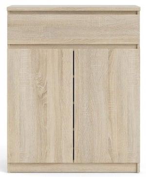 Naia Structure Oak 2 Door 1 Drawer Sideboard