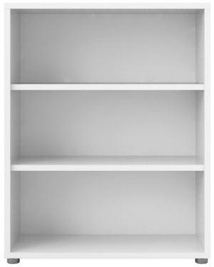 Prima White 2 Shelves Open Bookcase