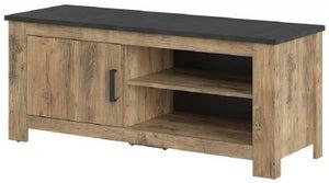 Rapallo Chestnut and Matera Grey TV Cabinet