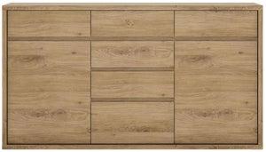Shetland Oak 6 Drawer Chest