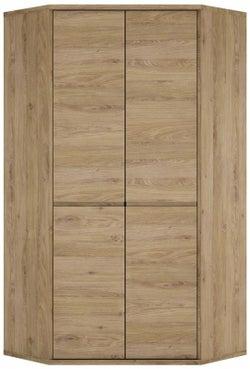 Shetland Oak Corner Cupboard