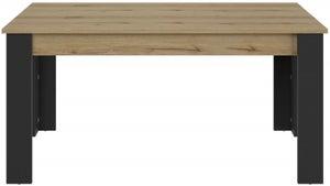 Gami Trust Helvezia Oak Extending Dining Table
