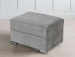 GFA Camden Ottoman - Light Grey Fabric