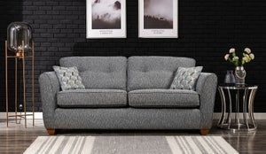 GFA Darcy 3 Seater Fabric Sofa