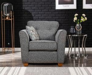 GFA Darcy Fabric Armchair