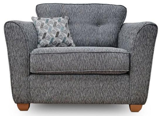 GFA Darcy Fabric Cuddler Chair