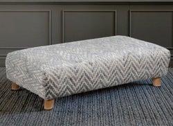 GFA Holborn Ottoman - Patterned Fabric