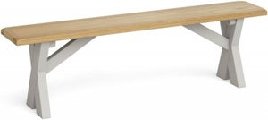 Global Home Guilford Painted Cross Leg Bench
