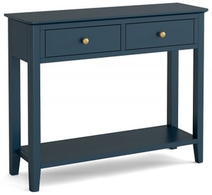 Global Home Harrogate Blue Painted Console Table