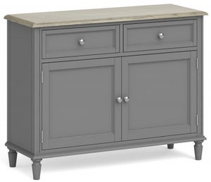 Global Home Marseille Grey Painted Small Sideboard