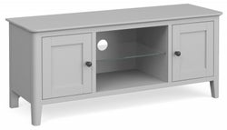 Global Home Stowe Grey Painted Large TV Unit