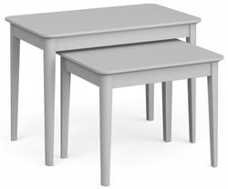 Global Home Stowe Grey Painted Nest of Table