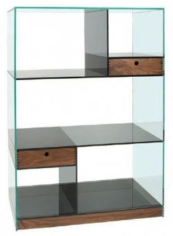 Greenapple Cubic Glass Shelving Unit
