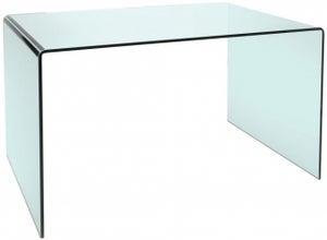 Greenapple Pure Glass Arc Computer Desk
