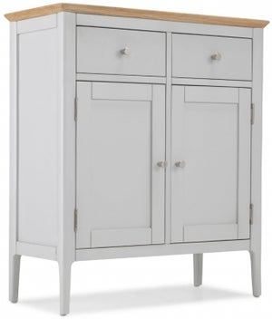 Almstead Grey Painted Small Sideboard