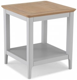 Almstead Grey Painted Square Coffee Table