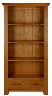 Arles Oak Large Bookcase