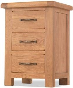 Bradburn Oak Bedside Cabinet