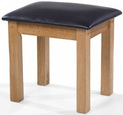 Cherington Oak Dressing Table Stool