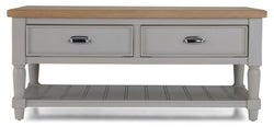 Shallotte Grey Painted Coffee Table