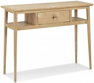 Skean Oak Console Table