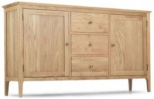 Wadsworth Oak Wide Sideboard