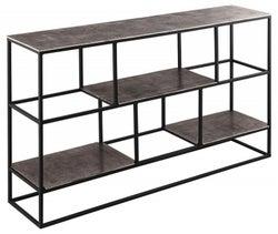 Hill Interiors Farrah Silver Multi Shelf Unit