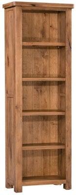 Homestyle GB Aztec Oak Slim Bookcase