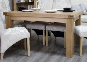 Homestyle GB Bordeaux Oak Rectangular Dining Table