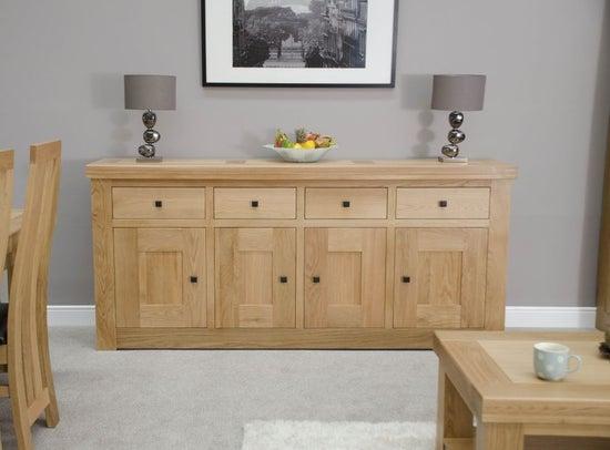 Homestyle GB Bordeaux Oak Large Sideboard