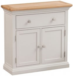 Homestyle GB Cotswold Oak and Painted Occasional Cupboard