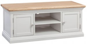 Homestyle GB Cotswold Oak and Painted Large TV Cabinet