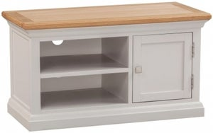 Homestyle GB Cotswold Oak and Painted TV Unit