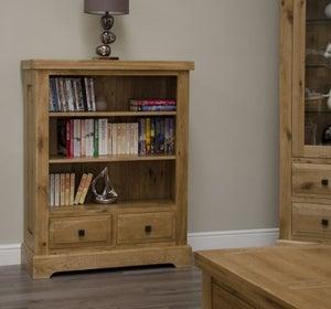 Homestyle GB Deluxe Oak Small Bookcase