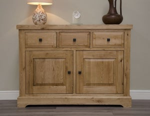 Homestyle GB Deluxe Oak Small Sideboard