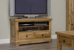 Homestyle GB Deluxe Oak TV Unit