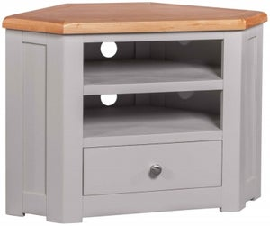 Homestyle GB Diamond Painted Corner TV Cabinet
