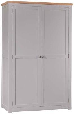 Homestyle GB Diamond Painted 2 Door Wardrobe