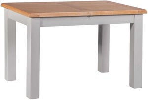 Homestyle GB Diamond Painted Small Extending Dining Table