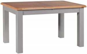 Homestyle GB Diamond Painted Large Extending Dining Table