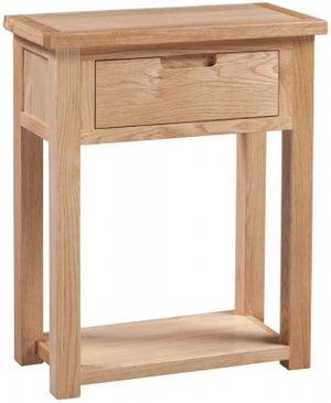 Homestyle GB Moderna Oak Small Hall Table