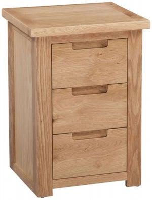 Homestyle GB Moderna Oak Bedside Cabinet