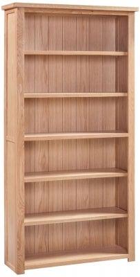 Homestyle GB Moderna Oak Large Bookcase