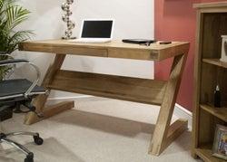 Homestyle GB Opus Oak Z Style Office Desk