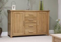 Homestyle GB Opus Oak Large Sideboard