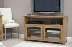 Homestyle GB Opus Oak Entertainment Unit