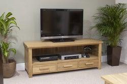 Homestyle GB Opus Oak Small Plasma TV Unit