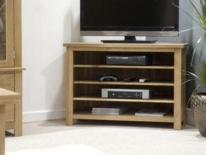 Homestyle GB Opus Oak Corner TV Unit