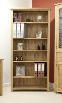 Homestyle GB Opus Oak Large Bookcase